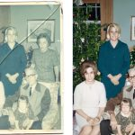 What to do When an Old Photograph is Stuck to Glass