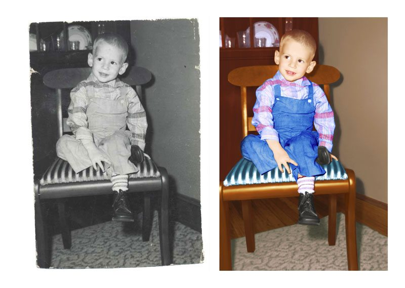 Photo Restoration - Restore and colorized photo