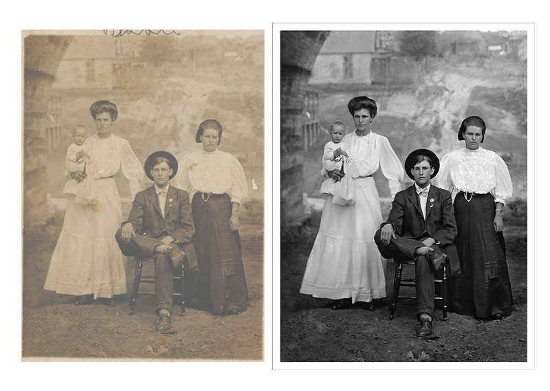 Photo Restoration Historic Restoration