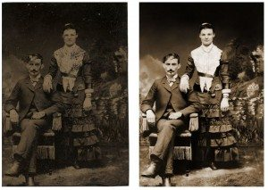 Photo Restoration - Repair Extreme Damage & Staining