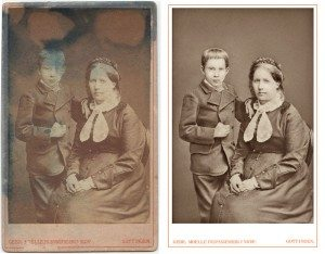 Photo Restoration of Aged Photos